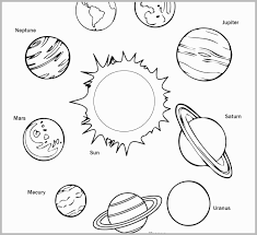 Solar System Coloring Pages Elegant Printable Planet Coloring Pages