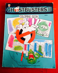 Obscure Ghostbusters Merchandise A Coloring Book Filmduds