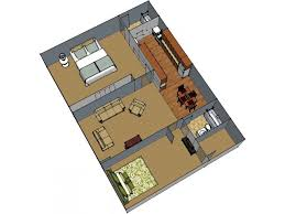 Beautiful For The 2br2ba 962Sq.Ft. Floor Plan.