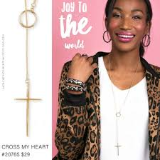 Premier Designs Holiday Collection Cross My Heart Necklace Check Out The 2017 Premier Designs