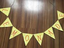 Baby Shower Burlap Banner