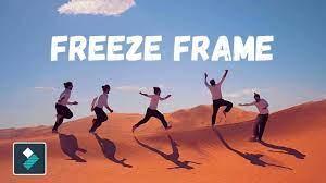 create freeze frame effect tik tok