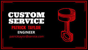 Placeit Business Card Maker For Custom Automotive Services