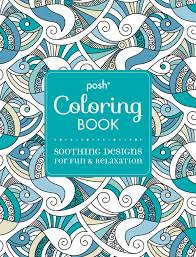Amazon Com Posh Adult Coloring Book Soothing Designs For Fun