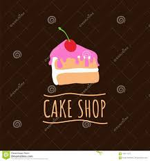 Cake Shop Logo Baking And Bakery House Emblem Dessert And Pastry