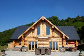 Luxury Log Cabin Homes Uk