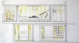 College Interior Design Plans