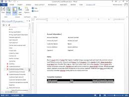 Create A Word Template Use Word Templates To Generate Standard Customer Correspondence