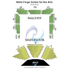 Wells Fargo Center Of The Arts Seating Chart Wells Fargo Center For The Arts Ruth Finley Person Theater