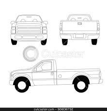 Free vector downloads, istockphoto, white pickup truck clipart, sell ...