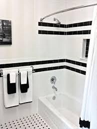 Bathroom Retro Black White Bathroom Floor Tile Designs And Tiles