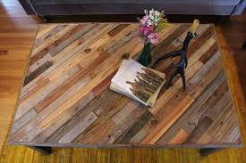 wood table top recycled pallet table top solid wood table top round