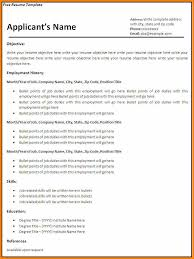 Free Resume Templates 2015 5 Download Cv Template 2015 Instinctual Intelligence