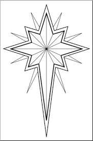 christmas pictures black and white religious. Delighful Religious Clip Art Religious Christmas Star 3 Bu0026W I Abcteachcom  Preview 1 Throughout Pictures Black And White Religious D