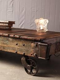 vintage coffee table with wheels interior decorating regard to designs 18