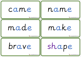Here, you will find free phonics worksheets to assist in learning phonics rules for reading. Free Set Of A E Split Digraph Double Sided Phonics Words Phonics Words Phonics Worksheets Phonics