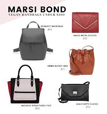 melie bianco sweat free handbags are made out of pu polyurethane for a look and feel that is very similar to animal leather but without the