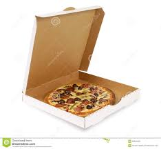 open pizza box with pizza. Exellent Open Pizza Plain White Box Open Isolated Throughout Open Pizza Box With E