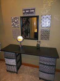 diy makeup vanity table. DIY Makeup Vanity.. I Have No Counters In This British House. As Much Diy Vanity Table