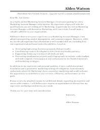 Marketing Manager Cover Letter Assistant Marketing Manager Cover