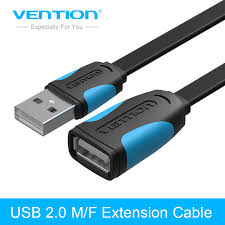 <b>Vention USB 2.0 Extension</b> Cable High Speed Male to Female USB ...