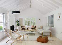 Scandinavian furniture style Sofa Livingdnasg Hamptons Beach Retreat Gets Scandinavianstyle Makeover Dwell
