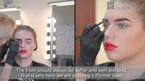 <b>CC Brow</b> eyebrow henna usage instruction with subtitles - YouTube