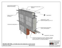 Concrete Block Lintel Design Lintel Detailing Series Design Detailing Doors And