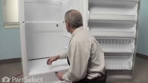 Ge Upright Freezer Manual Refrigerator Repair Replacing The Freezer Thermostat Frigidaire