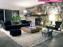fur rugs for living room excellent living room furniture design ideas with fireplace and black sofa on cream fur rug also stone faux fur rug living room