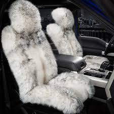 riu long sheared sheepskin black seat coverriu long sheared sheepskin black seat
