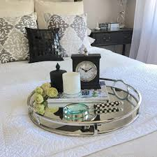 Decorating With Trays On Coffee Tables Coffee Table Fascinating Ottoman Tray Decoration Ideas In Coffee 67