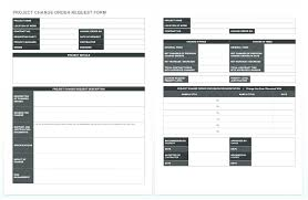 Construction Change Order Log Template Excel Contract Format ...