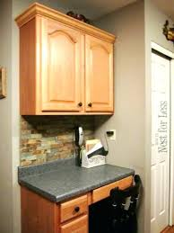 molding on cabinet doors oak kitchen cabinets as and awesome crown installation instructions