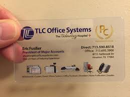 business card office plastic business card design gallery