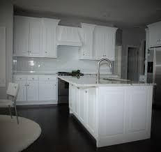 White Transitional Kitchens Custom White Transitional Kitchen By Belak Woodworking Llc
