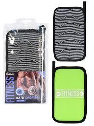 """<b>Мочалка</b> """"Fitness Man"""" AktiveTex MW, 19х12см <b>Eva</b> 10302912 в ..."""