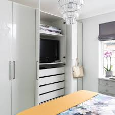 10 Ways To Disguise Your Tv | Ideal Home pertaining to Built In Wardrobes  With Tv