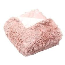 pink faux fur rug light designs throw blanket
