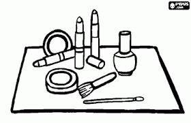 Make Up Spelletjes Kleurplaten Knutselenwerkstukken