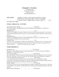 Resume Without References