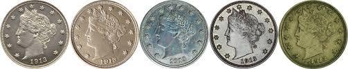 1913 Liberty Head V Nickel Value Cointrackers