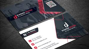 Free Corporate Business Card Photoshop Template