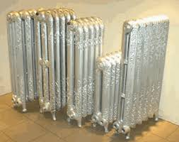 Exceptional Victorian Cast Iron Radiators. Refurbished, Tested And Guaranteed.