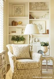 A Southern Kitchen In Neutral Territory. White Living RoomsSouthern Living  RoomsSouthern KitchensBookshelf IdeasTraditional ...