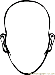 Small Picture Face Coloring Page 04 Coloring Page Free Others Coloring Pages