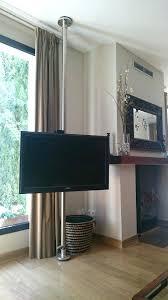 diy tv wall mount swivel con a home design 3d