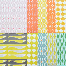 Patterned Paper Mesmerizing Winter's Moon Vintage Midcentury Modern Furniture Chichester