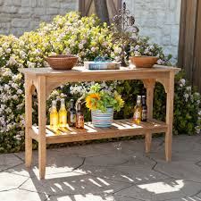 rustic outdoor furniture. Furniture Custom Rustic Outdoor Console Table With Stair Baluster Storage Ideas Aluminum Stone Teak Wicker Patio Clearance Folding Chairs Comfortable Cute