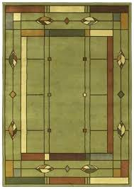 craftsman style rug mission style area rugs mission style area rugs creek leaf sage machine intended